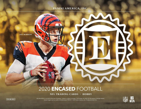 2020 Encased Football - Single Box Break #1 - Random Teams Style