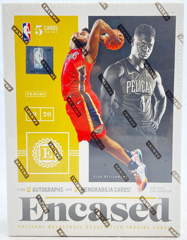 2019/20 Encased Basketball -  Single Box Break #1- Random Teams