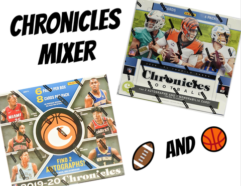 2 Sport Chronicles Mixer - (1) 2019/20 Basketball and (1) 2020 Football - 2 Teams per Spot (1 NBA and 1 NFL)