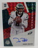 Eagles - Jalen Hurts - 2020 Panini Mosaic Rookie Card Red Mosaic Auto