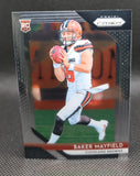Browns - Baker Mayfield - 2018 Panini Prizm Base Rookie Card - B