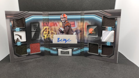 Browns - Baker Mayfield - 2018 Panini Playbook Vault Rookie Autograph /25