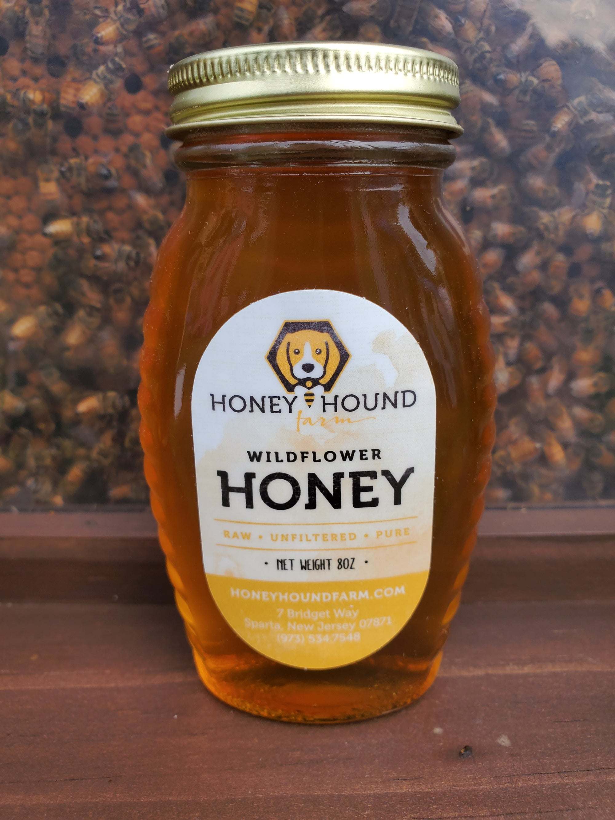 8oz Wildflower Honey