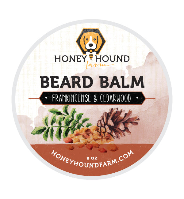 Frankincense & Cedarwood Beard Balm