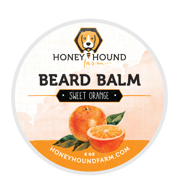 Sweet Orange Beard Balm