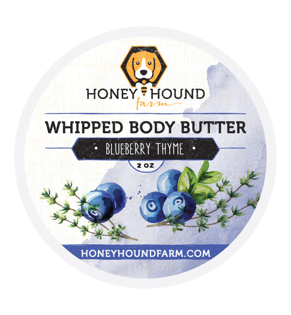 Blueberry Thyme Whipped Body Butter
