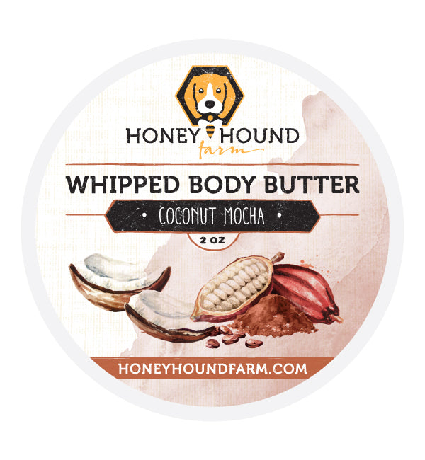 Coconut Mocha Whipped Body Butter