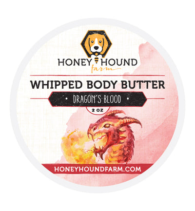 Dragon's Blood Whipped Body Butter