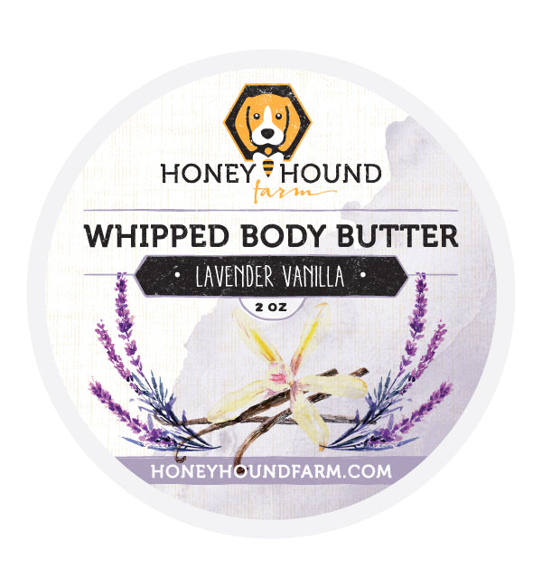 Lavender Vanilla Whipped Body Butter