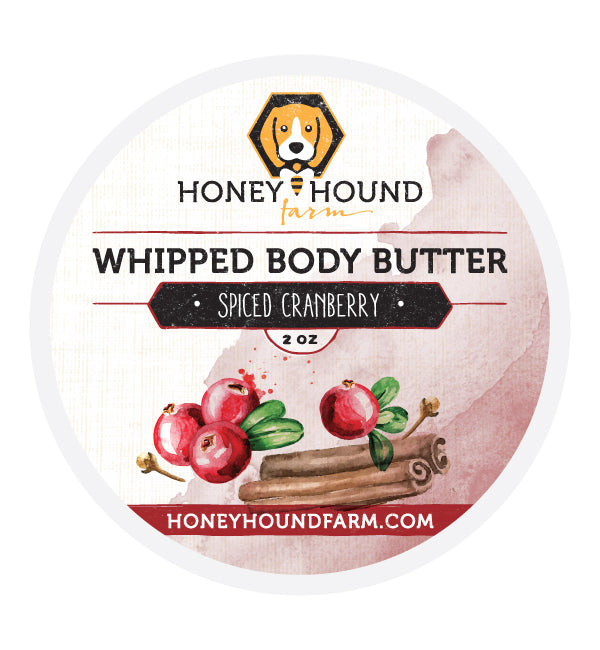 Spiced Cranberry Whipped Body Butter