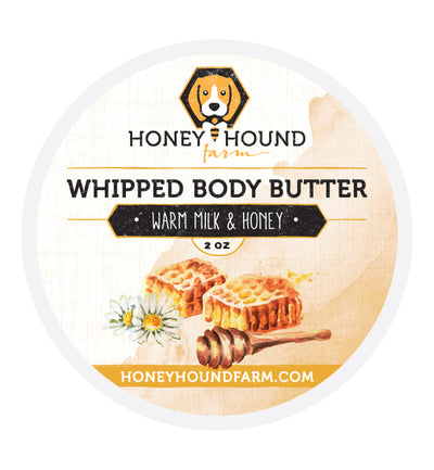 Warm Milk and Honey Whipped Body Butter