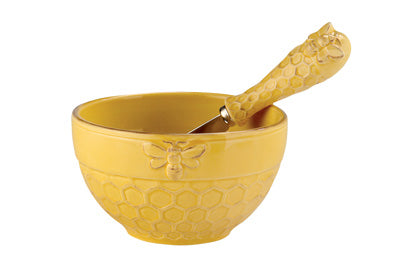 Bee Bowl & Spreader Set