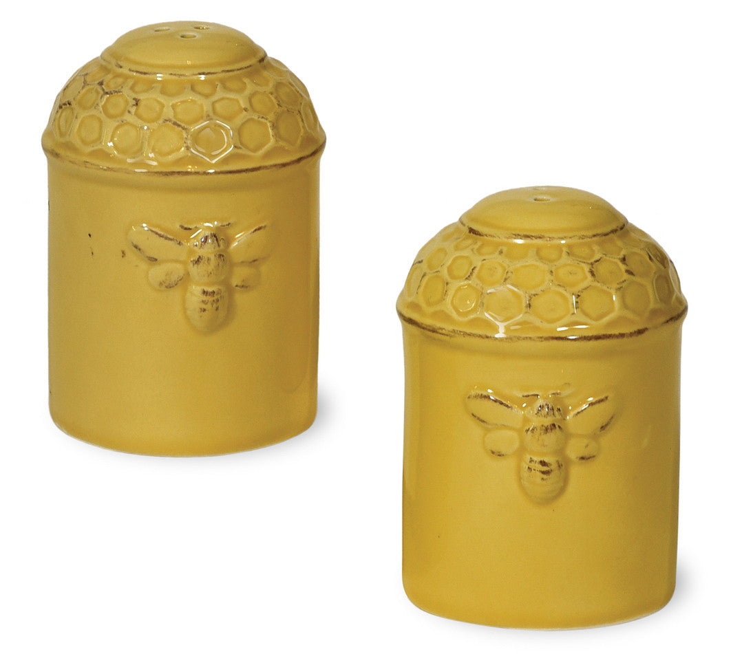 Honeycomb Salt & Pepper Shaker