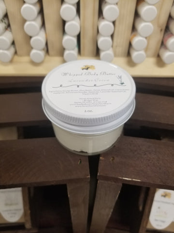 Lavender Cocoa Whipped Body Butter (2oz)