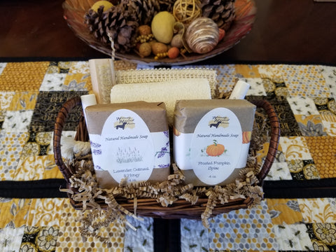 Mini Spa Gift Basket