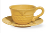 Honeycomb Teacup & Saucer