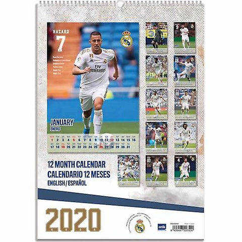 Real Madrid kalender 2020