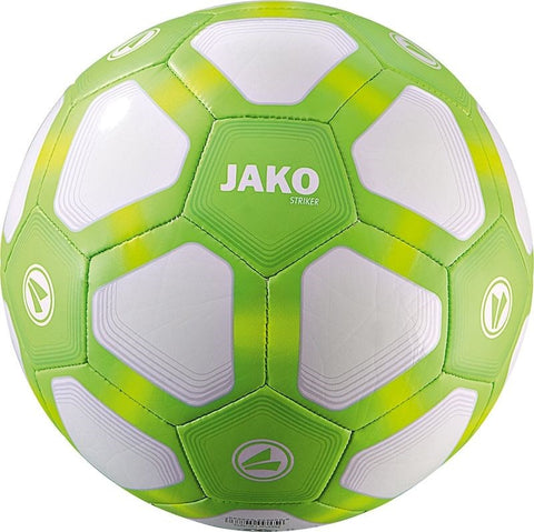 Jako jeugdbal Striker Light fluogroen maat 3