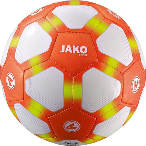Jako jeugdbal Striker Light oranje maat 5