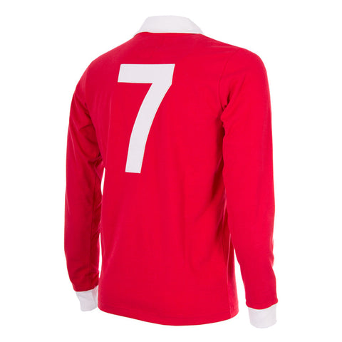 Copa George Best Man Utd retro voetbalshirt 750