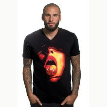 6656 Copa shirt Tongue V-neck