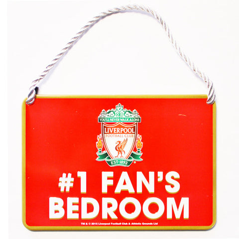 Liverpool deurbord 1 Fan's Bedroom
