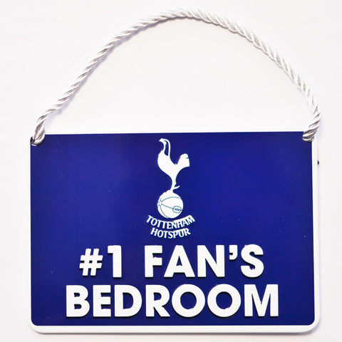 Tottenham Hotspur deurbord 1 Fan's Bedroom