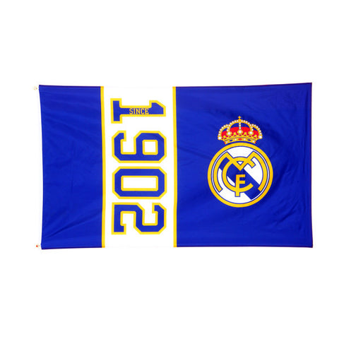 Real Madrid FC vlag since 1902