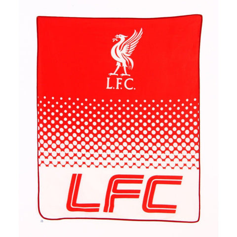 Liverpool FC fade fleece deken