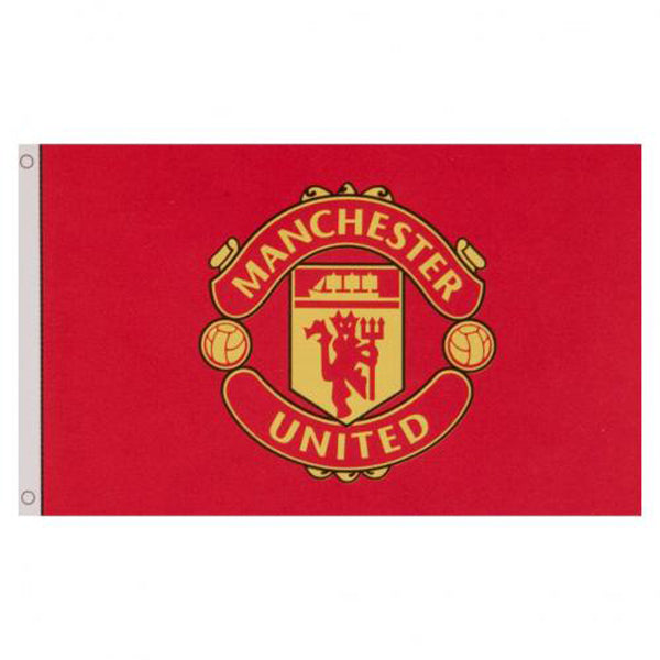 Manchester United core vlag