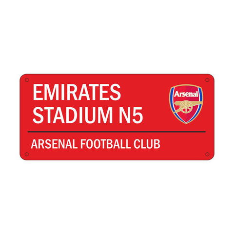 Arsenal FC retro straatnaam bord