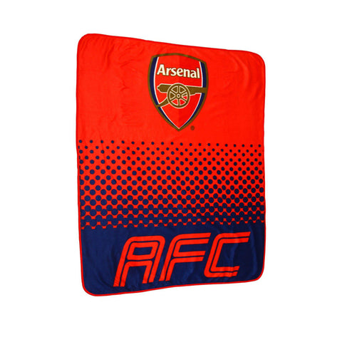 Arsenal fleece deken