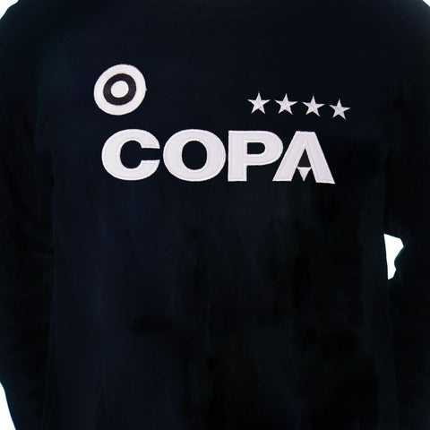 Copa Football zwarte sweater Stars 6456