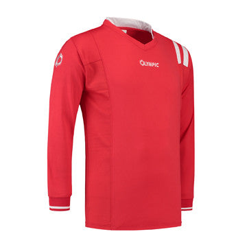 Olympic Calcio Shirt Rood/Wit