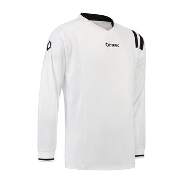 Olympic Calcio Shirt Wit/Zwart