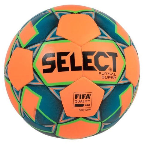 Select voetbal indoor Futsal Super Orange