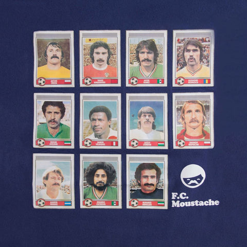 Football FC Moustache Dream Team Copa designed by t-shirt
