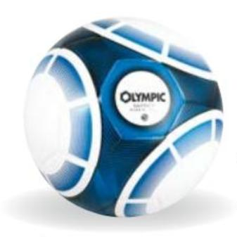 Olympic hybrid voetbal Pro Glider (maat 3-5)