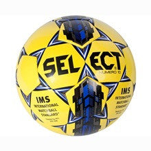 Select voetbal Numero 10 yellow