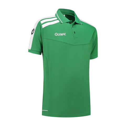 Olympic Roma Polo groen/wit