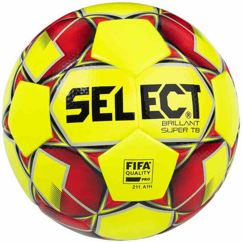 Select voetbal Brillant Super TB Yellow wedstrijdbal maat 5