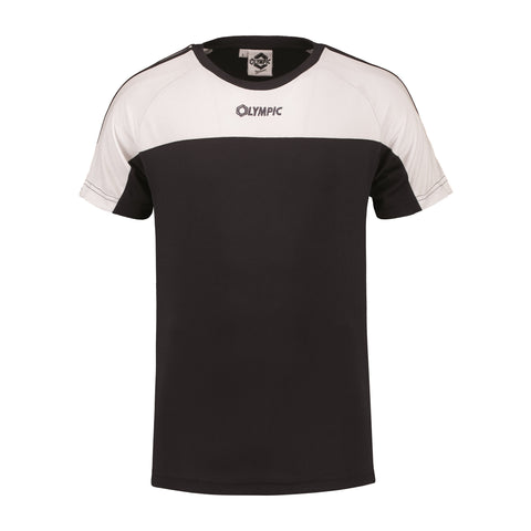 Olympic team squadra t-shirt zwart