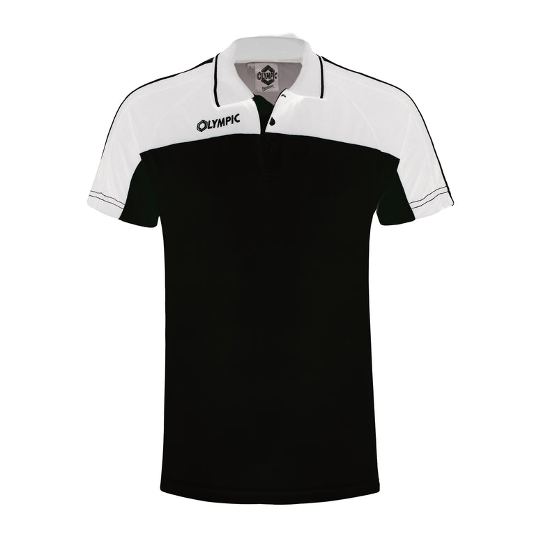Olympic Squadra Polo Zwart/Wit
