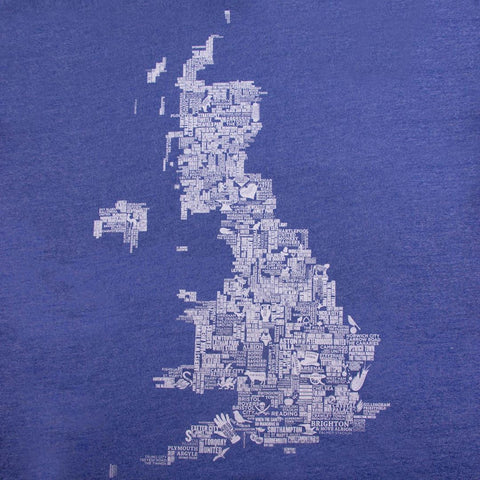 UK Football Grounds Copa designed by t-shirt