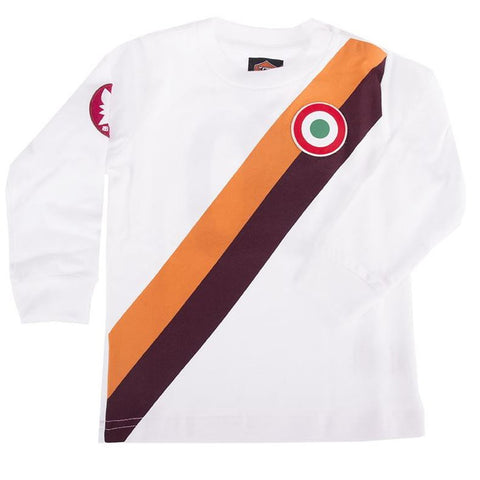 AS Roma Copa away retro shirt kids