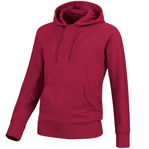 Jako sweater met kap bordeaux (128-6XL-dames)