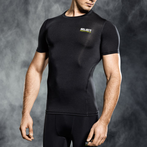 Select underwear compression t-shirt zwart S/S (S-XXL)