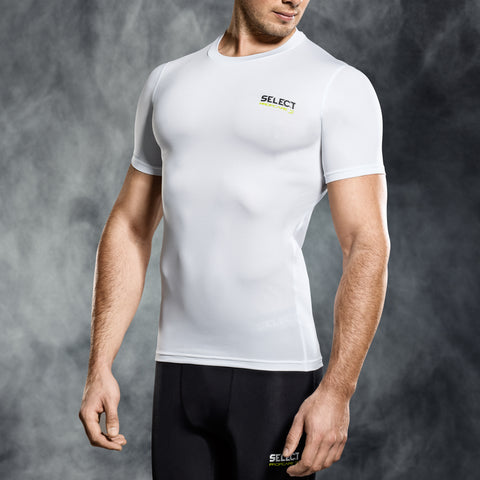 Select underwear compression t-shirt wit S/S (S-XXL)