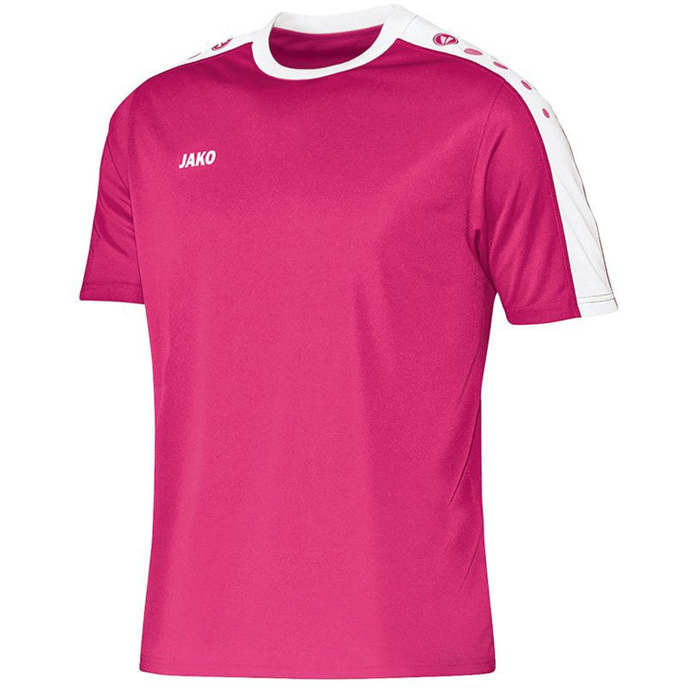 Jako shirt Striker fuchsia/wit JR