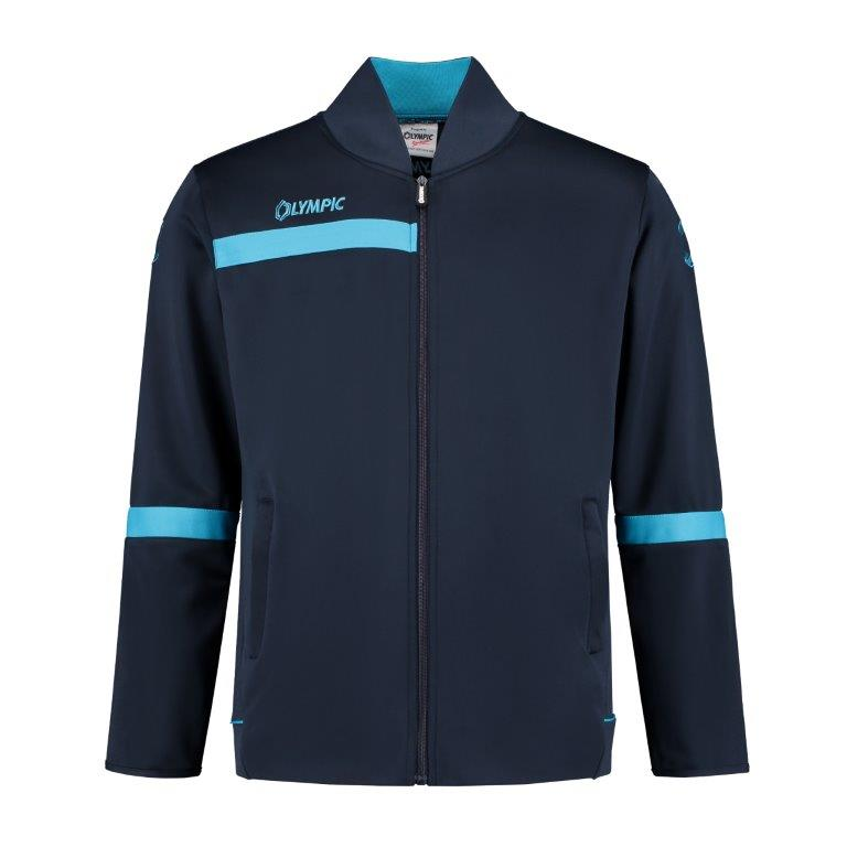 Olympic trainingjacket 2.0 navy/petrol blue